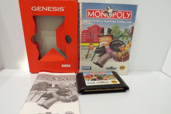 Monopoly Cib Original Sega Genesis Mega Drive