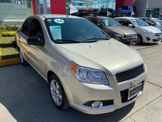 Chevrolet Aveo Ltz 2016 Mt