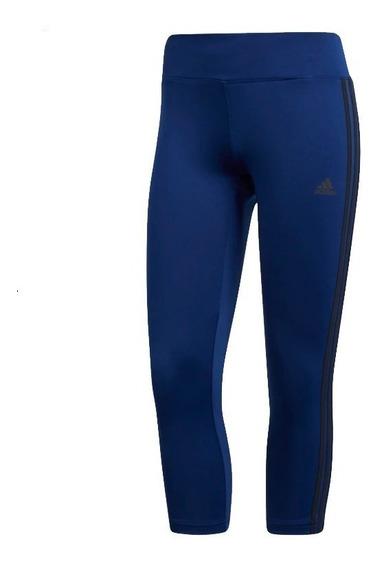 Leggings 3/4 Para Dama Marca adidas Wear Cz7932 Marino