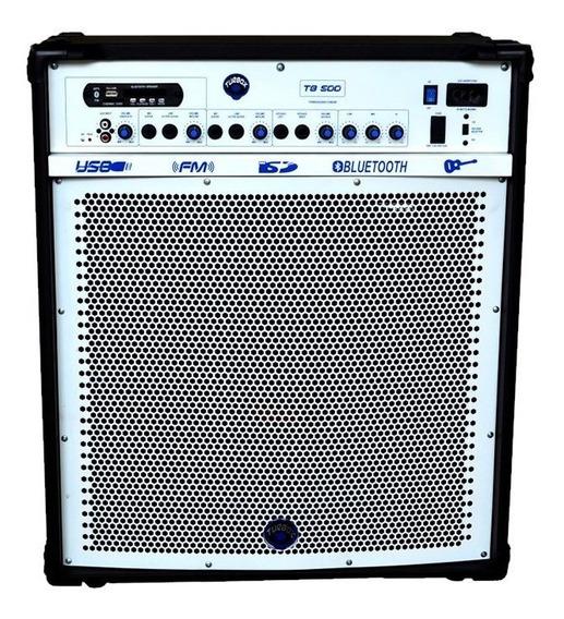 Caixa Multiuso Turbox Tb-500 12 Pol 100w Rms Amplificador