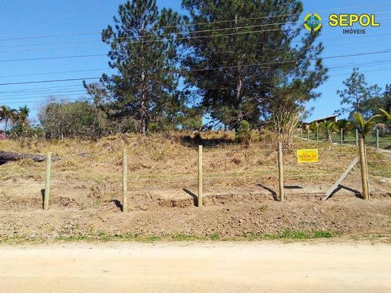 Terreno À Venda, 5000 M² Por R$ 190.000 - Parque Agrinco - Guararema/sp - Te0102
