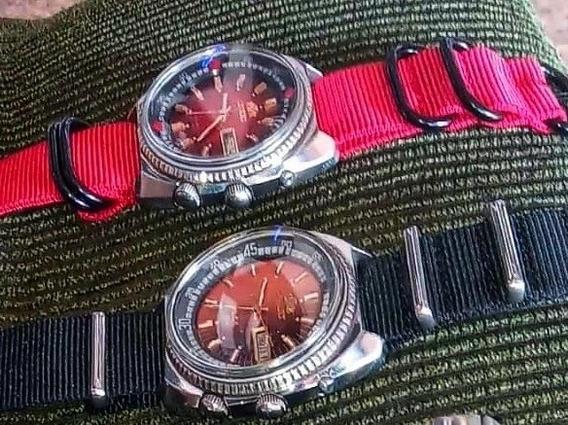 Orient King Diver Três Chaves Lote Com Dois Relógios
