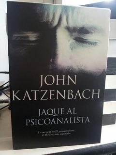 Jaque Al Psicoanalista John Katzenbach Libro Fisico