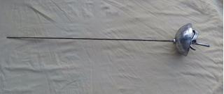 Antigua Espada Esgrima Empuñadura Cazoleta Española Del 70