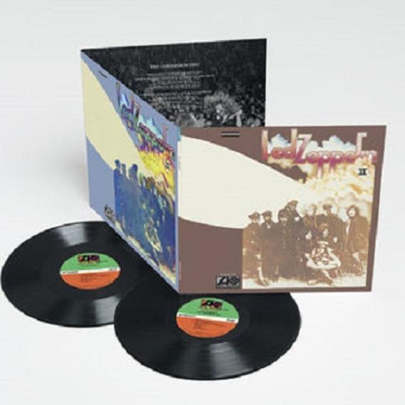 Lp Led Zeppelin Ii Deluxe Duplo Trifold Iii Iv Presence Coda
