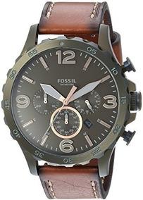 Relógio Masculino Fossil 50mm Nate Modelo: Jr1531