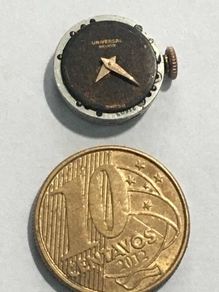 Universal Micro Maquina De Relogio De Pulso A Corda Antiga