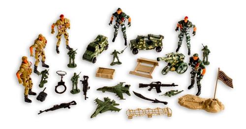 Set Militar De Juguete
