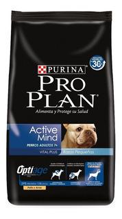 Alimento Pro Plan OptiAge Active Mind 7+ perro senior raza pequeña pollo/arroz 3kg