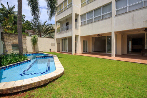 Imagem 1 de 30 de Casa Em Condomínio Diferenciado Com 5 Suítes Na Chácara Monte Alegre - Reo309045