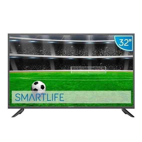Tv Led 32 Smart Smartlife Smtb Hd Wi Fi Hdmi Con Soporte Pcm