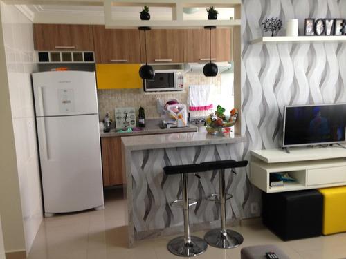 Apartamento Com 2 Dormitórios À Venda, 44 M² Por R$ 255.000 - Centro - Guarulhos/sp - Ap0065