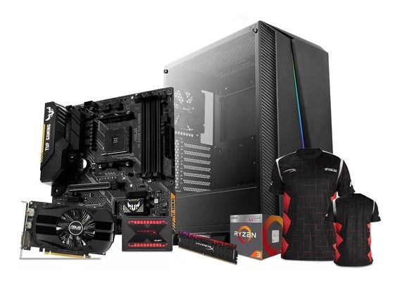 Computadora Pc Gamer Nvidia Geforce Gtx 1650 Amd Ryzen 3 Ssd 240gb Ram 8gb 80+