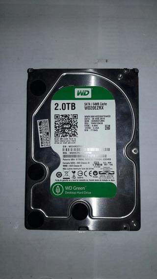 Hd 2 Tera Tb Para Computador Pc Funcionando 2000 Giga