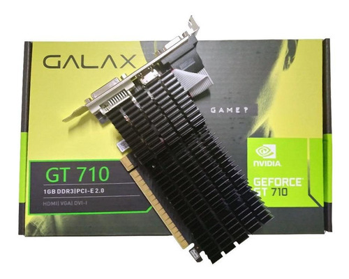 Placa de vídeo Nvidia Galax  GeForce 700 Series GT 710 71GGF4DC00WG 1GB
