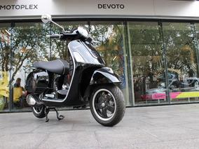 Vespa 300 Gts Sport Negra Abs/asr 0km Motoplex Preventa