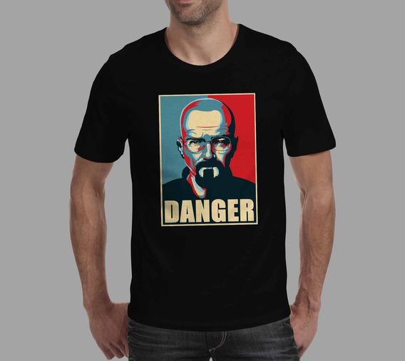 Camiseta Breaking Bad - Preta
