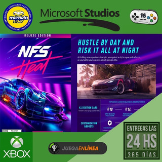 Need For Speed Heat Deluxe Xbox One Modo Local