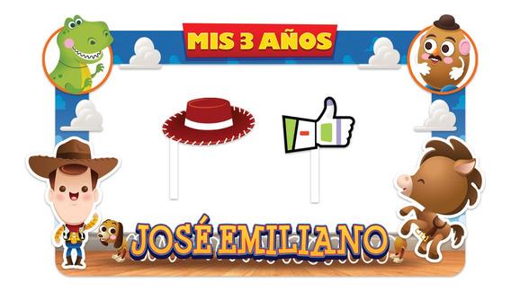 Marco Para Fiestas Selfies!!! Diseño Toy Story 1!!!