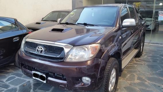 Toyota Hilux Srv 3.0td M/t 4x4 2da Mano 2007 Km345000.-