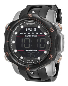 Relógio Masculino Speedo Esportivo Digital 100 Metros