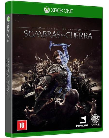 Sombras Da Guerra Xbox One Mídia Física - Novo - Lacrado
