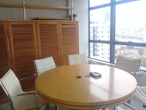 Conjunto Comercial Para Alugar, 60 M² Por R$ 4.500/mês - Ponta Da Praia - Santos/sp - Cj0102