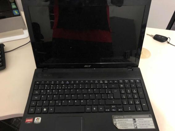 Notebook Acer Não Liga