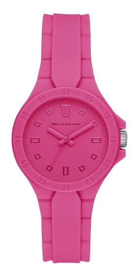 Reloj Dama Skechers Unibody Color Silicona Sr6197 Fiusha
