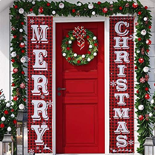 Imagen 1 de 7 de Decoración De Navidad, Color Rojo-blanco, Marca Pyle