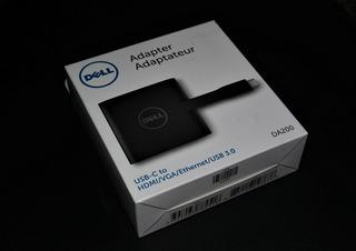 Dell 470-abqn Usb-c Red Adaptador De Cable Hdmi Vga Usb 3