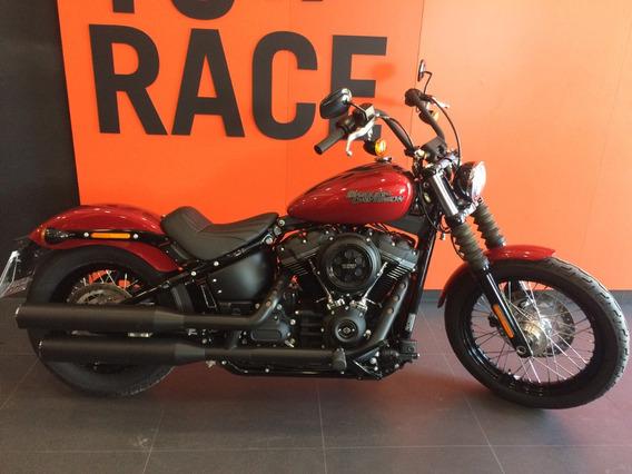 Harley Davidson - Street Bob - Vermelha
