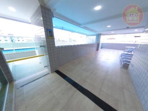 Apartamento Com 2 Dormitórios À Venda, 101 M² Por R$ 510.000 - Vila Assunção - Praia Grande/sp - Ap5072