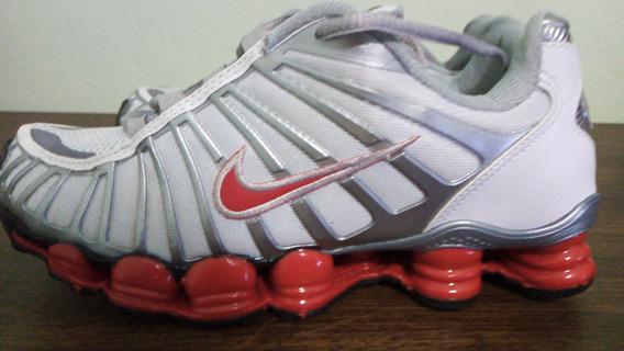Tênis Nike Shok Vermelho E Branco
