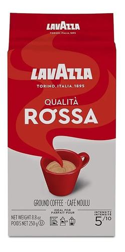 Imagen 1 de 1 de Café Lavazza Molido Qualità Rossa 250g