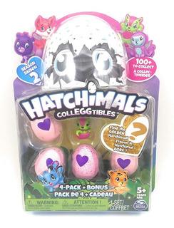 Hatchimals Colleggtibles - Temporada 2 - Pack X4 + 2 Bonus!