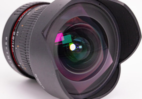 Lente Rokinon 14mm F/2.8 Ultrawid Com Foco Manual Para Canon
