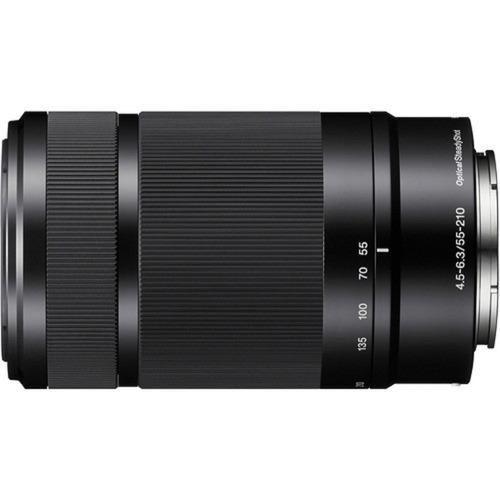 Lente Sony E 55-210mm F/4.5-6.3 Oss (sel55210) Garantia Sjur