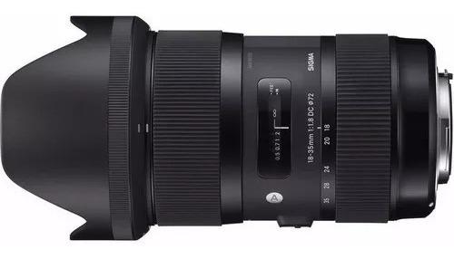 Objetiva Sigma 18-35mm F/1.8 Dc Hsm Art Para Nikon