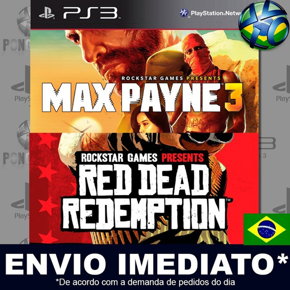 Max Payne Complete Edition 3 E Red Dead Redemption Ps3 Psn