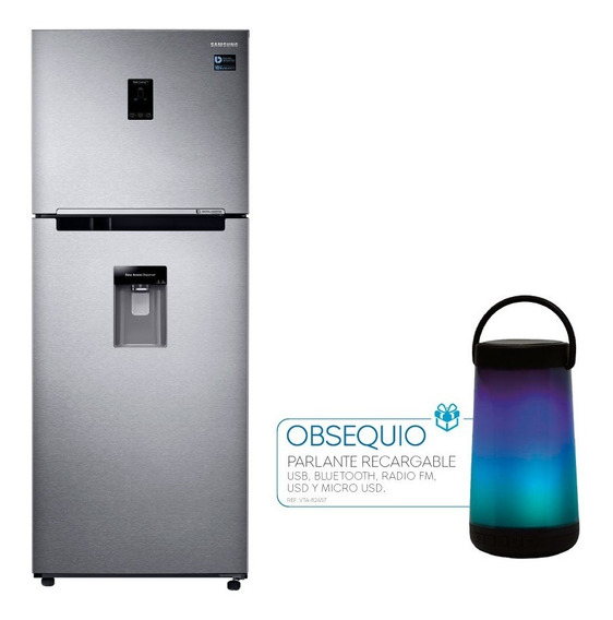 Nevera Samsung Twin Cooling Plus Rt38k5932sl + Parlante Vta
