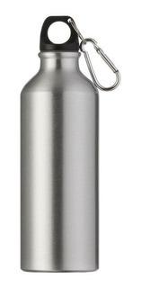 15 Squeeze Sublimação Garrafa Aluminio Prata Branco 500ml