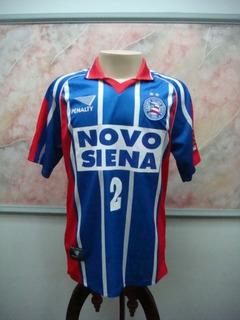 Camisa Futebol Bahia Salvador Penalty Fiat Jogo 2571