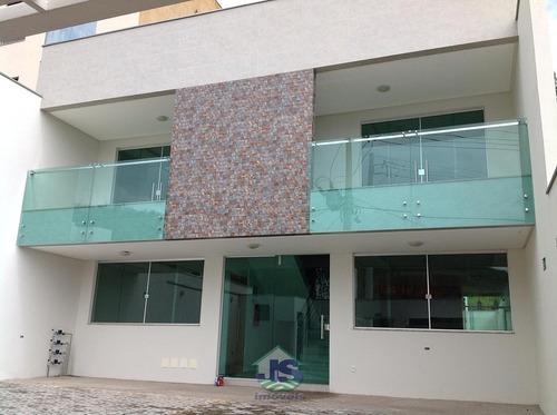 Casa Geminada No Residencial Bethânia, 3 Quartos - 724-1