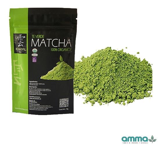 50g Té Verde Matcha Orgánico Japones Kumoritea