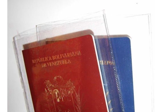 Protectores Fundas Pasaporte (precio Por 2)
