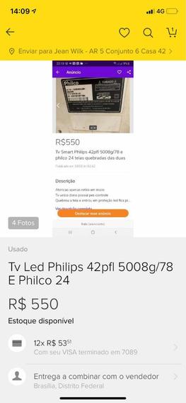 Peças Para Tv Smart Philips 42 5008g Todas As Pecas
