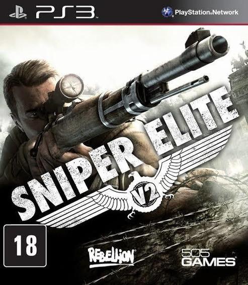 Sniper Elite V2 Ps3 Psn Receba Agora Jogos Ps3 Promoção