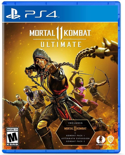 Imagen 1 de 5 de Mortal Kombat 11 Ultimate Ps4 Soy Gamer