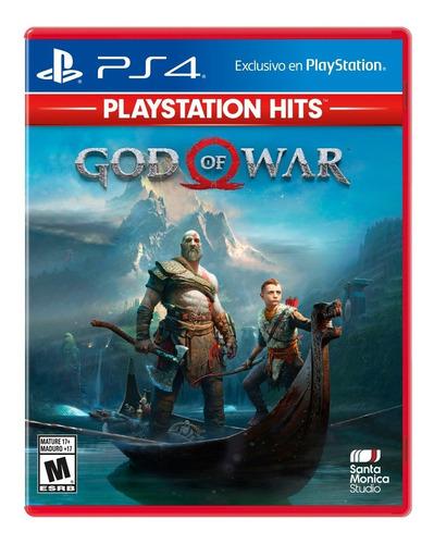 Imagen 1 de 10 de God Of War Formato Físico Ps4 Playstation Hits Original